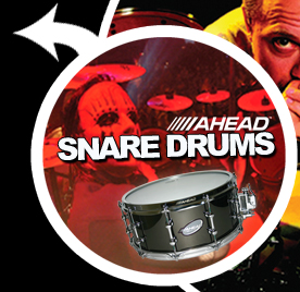 Ahead Drumsticks - Ahead Snare Drums
